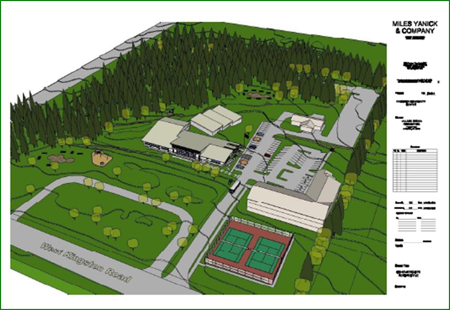 Village Green Site Sketch