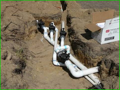 Irrigation installation My Village Green